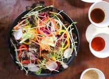 Φυτική σαλάτα ή μικτή σαλάτα Στοκ Εικόνα