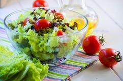 Φυτική σαλάτα διατροφής στοκ φωτογραφίες με δικαίωμα ελεύθερης χρήσης