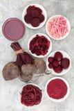 Φυτική υγιεινή διατροφή παντζαριών στοκ φωτογραφίες