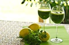 Φυτικό ποτό μαϊντανού Στοκ φωτογραφία με δικαίωμα ελεύθερης χρήσης
