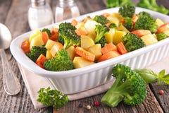 Φυτικό, υγιές γεύμα στοκ φωτογραφίες