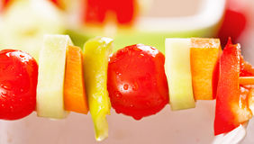Φυτικό kebab Στοκ φωτογραφίες με δικαίωμα ελεύθερης χρήσης