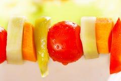 Φυτικό kebab Στοκ Φωτογραφίες