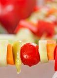 Φυτικό kebab Στοκ φωτογραφία με δικαίωμα ελεύθερης χρήσης