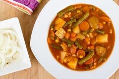 Φυτικό stew κύπελλο στοκ εικόνες με δικαίωμα ελεύθερης χρήσης