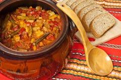 Φυτικό stew Στοκ εικόνες με δικαίωμα ελεύθερης χρήσης