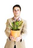 φυτό ατόμων Στοκ Φωτογραφία