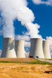 Φυτό πυρηνικής ενέργειας σε Temelin, Δημοκρατία της Τσεχίας Στοκ εικόνες με δικαίωμα ελεύθερης χρήσης