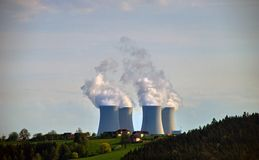 Φυτό πυρηνικής ενέργειας #1 στοκ φωτογραφία με δικαίωμα ελεύθερης χρήσης