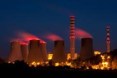 Φυτό πυρηνικής ενέργειας Στοκ φωτογραφίες με δικαίωμα ελεύθερης χρήσης