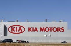φυτό της Kia Motors Στοκ Εικόνες