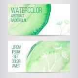 Φυλλάδιο ή επαγγελματική κάρτα σχεδίου με τους λεκέδες Στοκ εικόνα με δικαίωμα ελεύθερης χρήσης