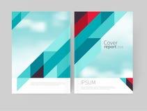 Φυλλάδιο, φυλλάδιο, ιπτάμενο, πρότυπο αφισών Σχέδιο κάλυψης απόθεμα-διανυσματικό αφηρημένο υπόβαθρο 10 eps Στοκ Εικόνες