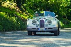 φυλή αυτοκινήτων 1000Miglia 2016 ιταλική ιστορική Στοκ Εικόνα