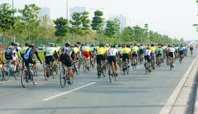 Φυλή κύκλων, αθλητική δραστηριότητα της Ασίας, βιετναμέζικος αναβάτης Στοκ Εικόνα