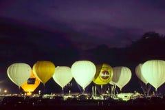 Φυλή μπαλονιών αερίου Albuequerque. Στοκ εικόνες με δικαίωμα ελεύθερης χρήσης