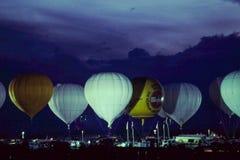 Φυλή μπαλονιών αερίου Albuequerque. Στοκ Φωτογραφία