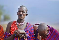 Φυλή Masai Στοκ εικόνα με δικαίωμα ελεύθερης χρήσης