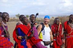 Φυλή Masai Στοκ φωτογραφία με δικαίωμα ελεύθερης χρήσης