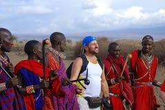 Φυλή Masai Στοκ Εικόνα