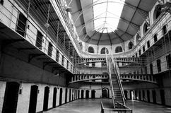 Φυλακή κρατητηρίων Kilmaiham Δουβλίνο Ιρλανδία Στοκ Φωτογραφίες