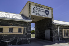 Φυλακή νησιών Robben στοκ εικόνα