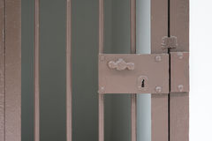 φυλακή πορτών παλαιά Στοκ φωτογραφία με δικαίωμα ελεύθερης χρήσης