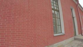 Φυλακή στο Peter και το φρούριο του Paul απόθεμα βίντεο