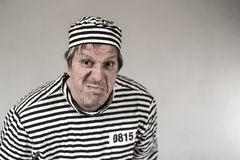 Φυλακισμένος, γκάγκστερ, αστείος Στοκ φωτογραφία με δικαίωμα ελεύθερης χρήσης