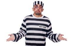 Φυλακισμένος με τους κακούς μώλωπες στοκ φωτογραφία με δικαίωμα ελεύθερης χρήσης