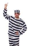 Φυλακισμένος με τους κακούς μώλωπες στοκ φωτογραφίες με δικαίωμα ελεύθερης χρήσης