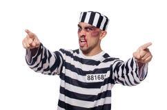 Φυλακισμένος με τους κακούς μώλωπες στοκ εικόνα με δικαίωμα ελεύθερης χρήσης