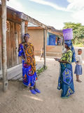 Φυλετικοί άνθρωποι στην Τανζανία Στοκ φωτογραφία με δικαίωμα ελεύθερης χρήσης