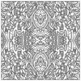Φυλετικός χρωματισμός zentangle Στοκ φωτογραφία με δικαίωμα ελεύθερης χρήσης