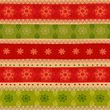 Φυλετικό άνευ ραφής σχέδιο Χριστουγέννων Στοκ Φωτογραφίες