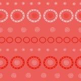 Φυλετικό άνευ ραφής σχέδιο Στοκ Εικόνες