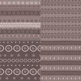 Φυλετικό άνευ ραφής σχέδιο Στοκ φωτογραφία με δικαίωμα ελεύθερης χρήσης