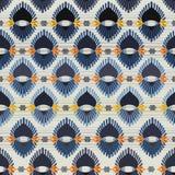 Φυλετικό άνευ ραφής σχέδιο Στοκ εικόνες με δικαίωμα ελεύθερης χρήσης