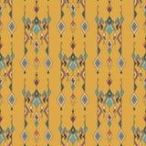 Φυλετικό εκλεκτής ποιότητας εθνικό άνευ ραφής σχέδιο Αζτέκικα, μεξικανός, Ναβάχο, αφρικανικό μοτίβο Στοκ Εικόνες