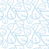 Φυλετικό σχέδιο στο μπλε χρώμα Στοκ φωτογραφία με δικαίωμα ελεύθερης χρήσης