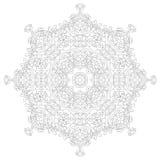 Φυλετικό mandala διακοσμήσεων Στοκ εικόνα με δικαίωμα ελεύθερης χρήσης