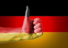 Φυλλομετρεί επάνω τη Γερμανία στοκ φωτογραφία με δικαίωμα ελεύθερης χρήσης