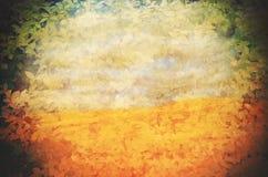 Φυλλώδη σύντομο χρονογράφημα και υπόβαθρο ερήμων Στοκ Φωτογραφίες