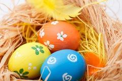 φωλιά αυγών Πάσχας Στοκ Φωτογραφίες