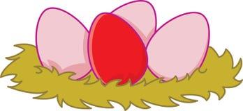 φωλιά αυγών απεικόνιση αποθεμάτων