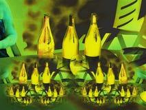 Φωλιά κρασιού στοκ εικόνα
