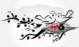 φωλιά πουλιών Στοκ φωτογραφία με δικαίωμα ελεύθερης χρήσης