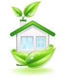 φωλιά σπιτιών eco ελεύθερη απεικόνιση δικαιώματος