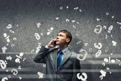 Φωνάζοντας επιχειρηματίας Στοκ εικόνα με δικαίωμα ελεύθερης χρήσης