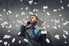 Φωνάζοντας επιχειρηματίας Στοκ φωτογραφία με δικαίωμα ελεύθερης χρήσης